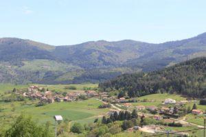 Paysage - Chez Mary - Vanosc Ardèche