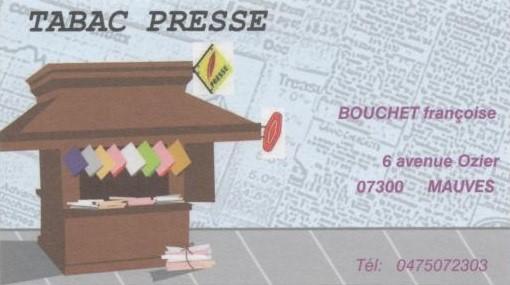 TABAC PRESSE MAUVES