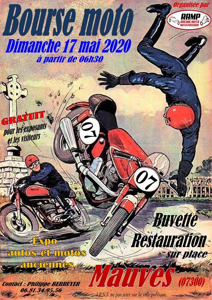 Affiche - Bourse moto 2020