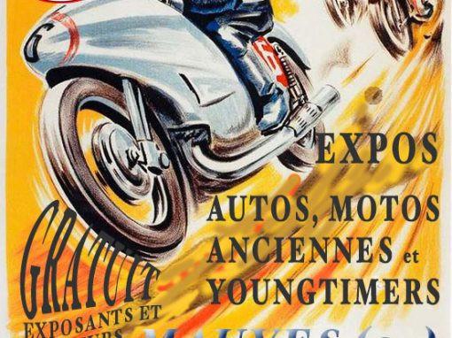 Affiche bourse moto